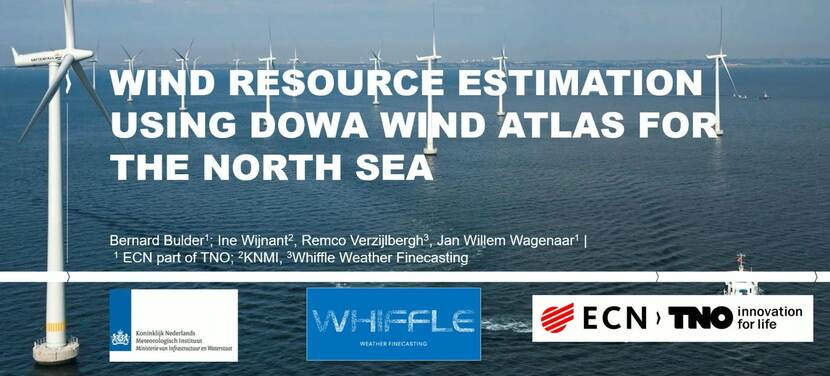 Webinar - Wind resource estimation using DOWA wind atlas for the North Sea - still